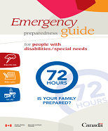72 Hour Emergency Guide for Individuals with Disabilities/ Special Needs