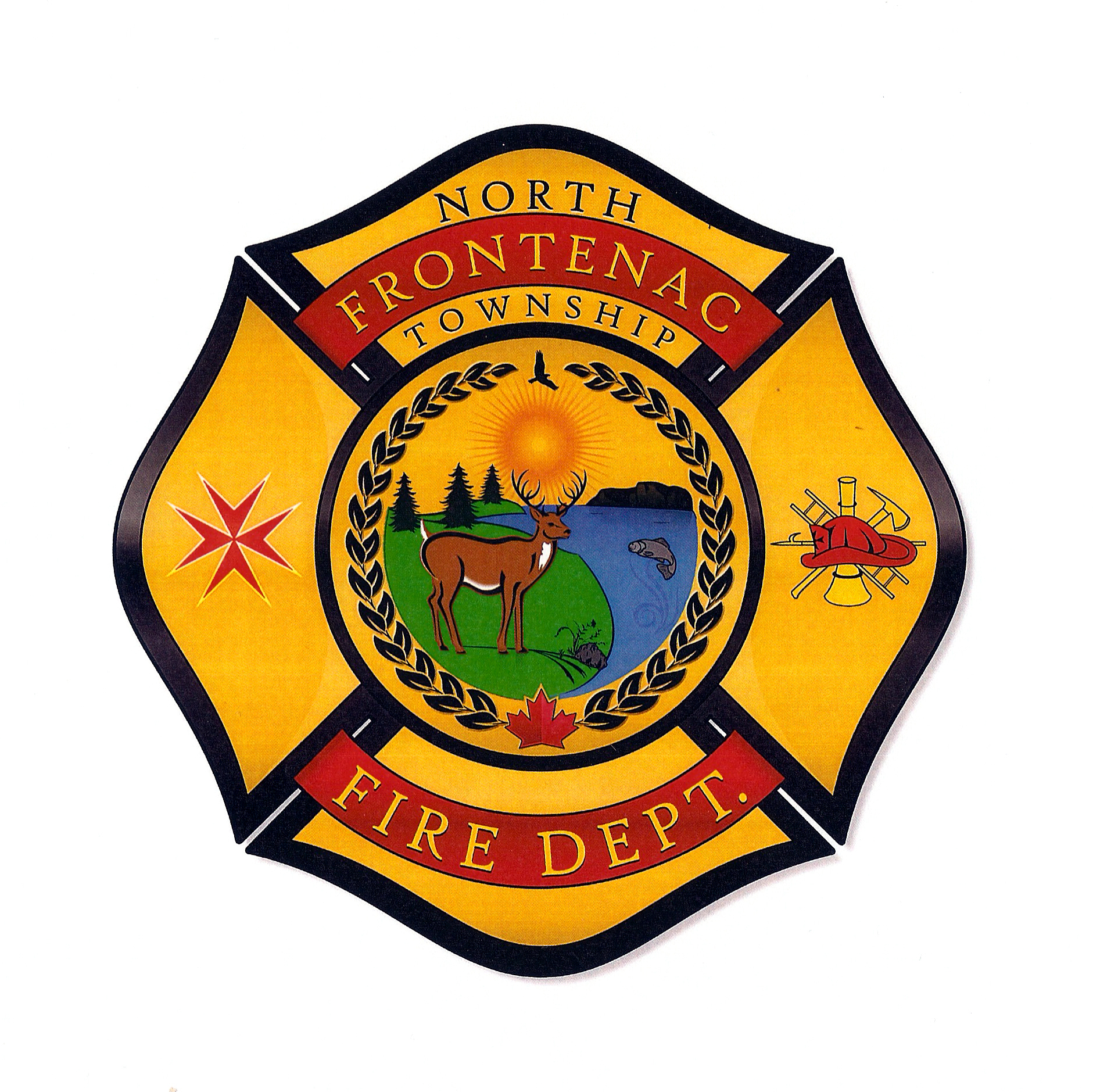 North Frontenac Fire Department's Logo