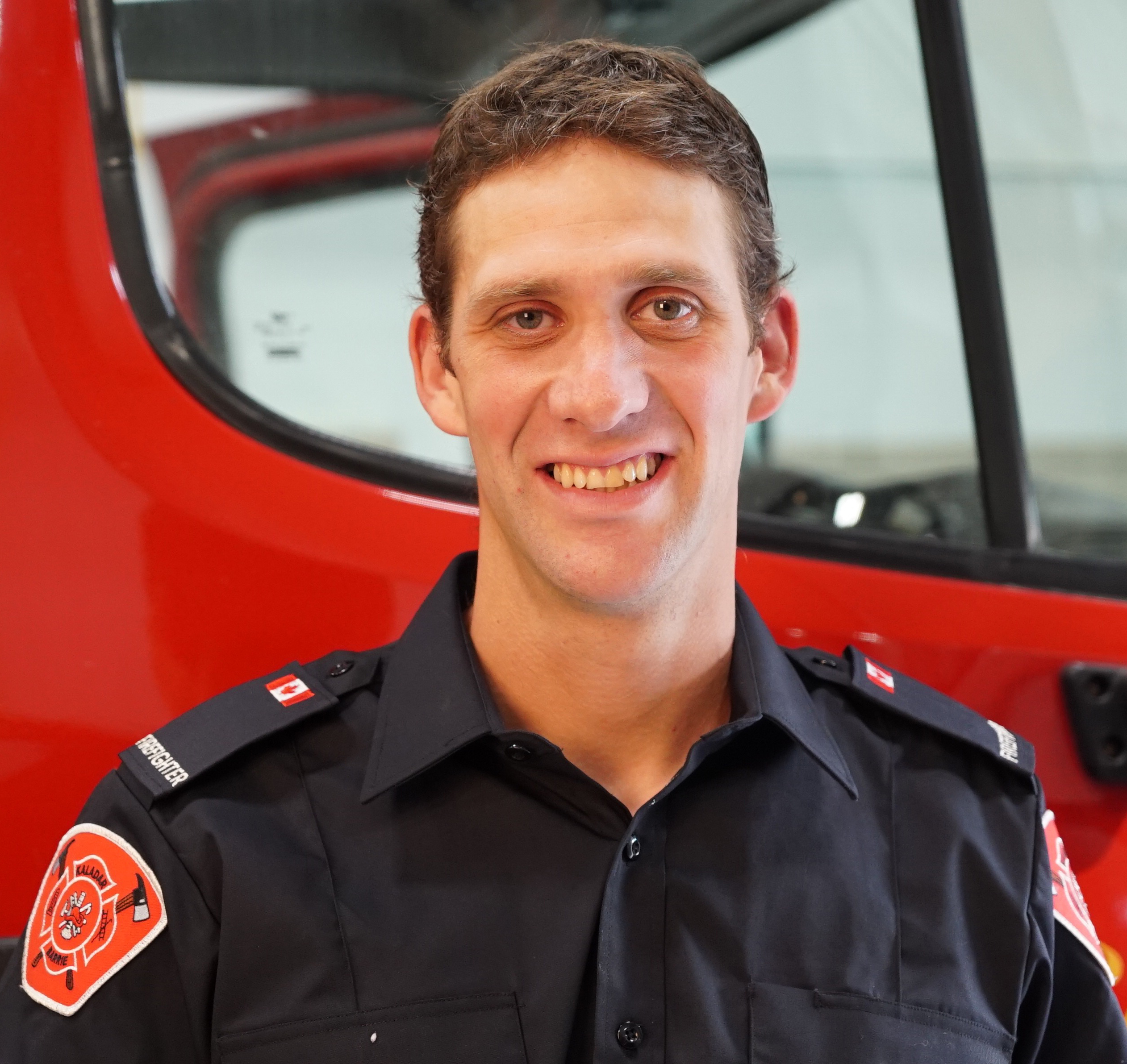 Jamie Miles, Firefighter