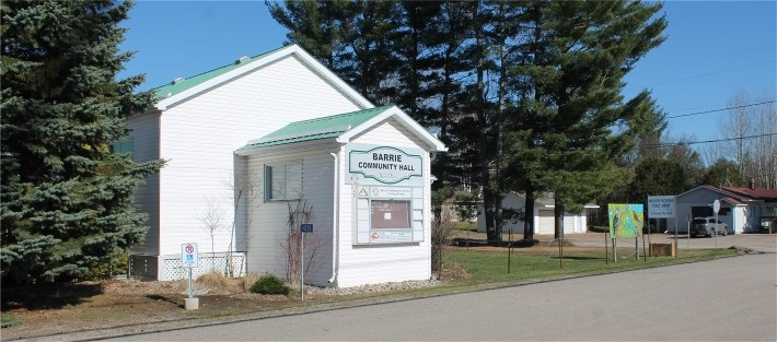Barrie Community Hall 14225 Hwy 41, Cloyne